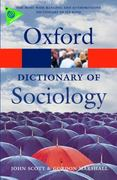 A Dictionary of Sociology 3rd edition 9780199533008 0199533008