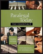 Paralegal Today 4th edition 9781435438781 1435438787