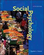 Social Psychology 5th edition 9780073370590 0073370592