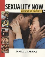 Sexuality Now 3rd edition 9780495602743 0495602744