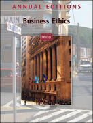 Annual Editions: Business Ethics 09/10 21st edition 9780073528557 0073528552