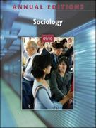 Annual Editions: Sociology 09/10 38th edition 9780078127724 0078127726