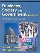 Business, Society and Government Essentials 0 9781577665755 1577665759