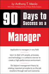 90 Days to Success as a Manager 1st edition 9781598639308 1598639307