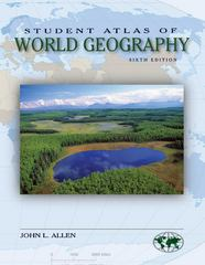 Student Atlas of World Geography 6th Edition 9780073527604 0073527602