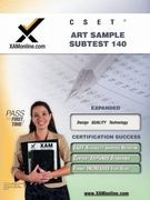 CSET Art Sample Subtest 140 1st Edition 9781581973976 1581973977