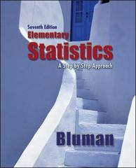 Elementary Statistics A Step by Step Approach 7th edition 9780073534978 0073534978