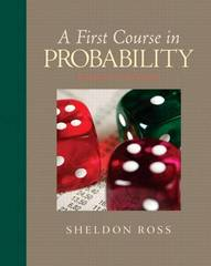 A First Course in Probability 8th edition 9780136033134 013603313X