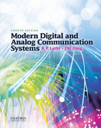 Modern Digital and Analog Communication Systems 4th edition 9780195331455 0195331451