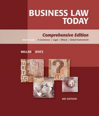 Business Law Today 8th edition 9780324595741 0324595743