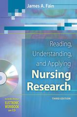 Reading, Understanding, and Applying Nursing Research 3rd edition 9780803618817 0803618816
