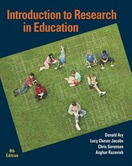 Introduction to Research in Education 8th edition 9780495601227 0495601225