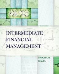 Intermediate Financial Management (with Thomson ONE - Business School Edition 6-Month Printed Access Card) 10th edition 9780324594690 0324594690