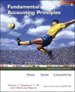MP Fundamental Accounting Principles Volume 1 (Ch 1-12) Softcover with Working Papers and Best Buy Annual Report 19th edition 9780077303242 0077303245