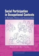 Social Participation in Occupational Contexts 1st edition 9781556429002 1556429002