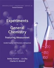 Experiments in General Chemistry 2nd edition 9781111784478 1111784477