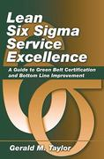 Lean Six Sigma Service Excellence H/C 1st Edition 9781604270068 1604270063