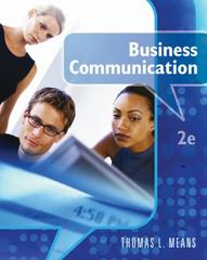Business Communication 2nd edition 9780538449472 0538449470