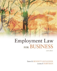 Employment Law for Business 6th Edition 9780073377636 0073377635
