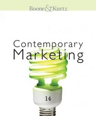 Contemporary Marketing 14th edition 9780324582031 032458203X
