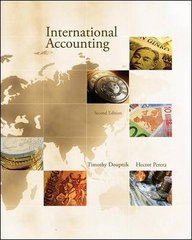International Accounting 2nd edition 9780073379623 007337962X