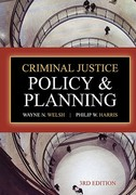Criminal Justice Policy and Planning 4th Edition 9781437735017 1437735010
