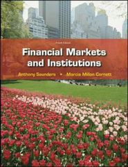 Financial Markets &amp. Institutions w/S&amp.P bind-in card 4th Edition 9780077262372 0077262379