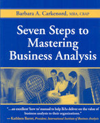 Seven Steps to Mastering Business Analysis 1st Edition 9781604270075 1604270071