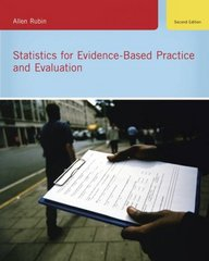 Statistics for Evidence-Based Practice and Evaluation 2nd edition 9780495602897 0495602892