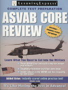 ASVAB Core Review 3rd edition 9781576856666 1576856666