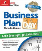 Business Plan in a Day 2nd edition 9781933895079 1933895071