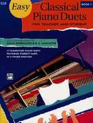 Easy Classical Piano Duets for Teacher and Student 1st Edition 9780882849355 0882849352