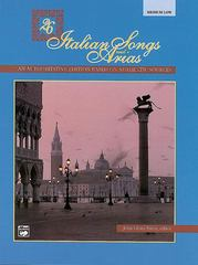 26 Italian Songs and Arias 1st Edition 9780882849362 0882849360