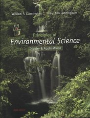 Principles of Environmental Science 5th edition 9780077270643 0077270649