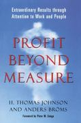 Profit Beyond Measure 0 9781439124628 1439124620