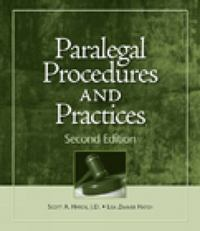 Paralegal Procedures and Practices 2nd edition 9781428376304 1428376305