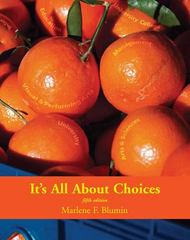 It's All about Choices 5th edition 9780757552038 075755203X