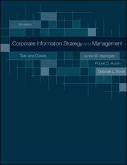 Corporate Information Strategy and Management 8th Edition 9780073402932 0073402931