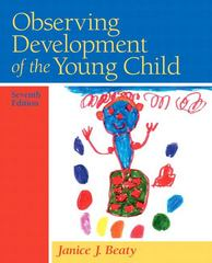 Observing Development of the Young Child 7th edition 9780135025895 0135025893