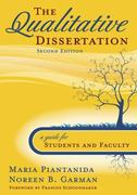 The Qualitative Dissertation 2nd edition 9781412951081 1412951089