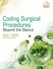 Coding Surgical Procedures 1st Edition 9781111781958 1111781958