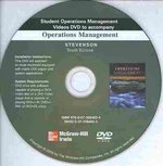 Student Operations Management Videos DVD 10th edition 9780073364834 0073364835