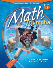 Math Triumphs, Grade 1: Beginning Skills and Concepts, Student Study Guide 1st edition 9780078881947 0078881943