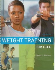 Weight Training for Life 9th Edition 9780495559092 0495559091