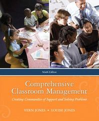 Comprehensive Classroom Management: Creating Communities of Support and Solving Problems 9th edition 9780205625482 0205625487