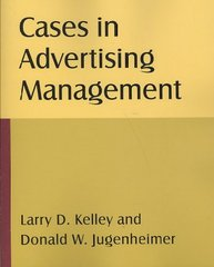 Cases in Advertising Management 1st Edition 9780765622617 0765622610