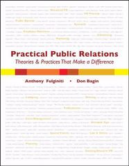 Practical Public Relations 1st Edition 9780757554254 0757554253