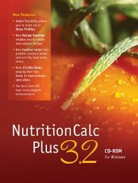 NutritionCalc Plus 3.2 CD-ROM 1st edition 9780077312435 0077312430