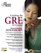 Cracking the GRE with DVD, 2010 Edition 0 9780375429330 0375429336