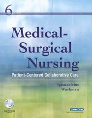 Medical-Surgical Nursing 6th edition 9781416037620 1416037624